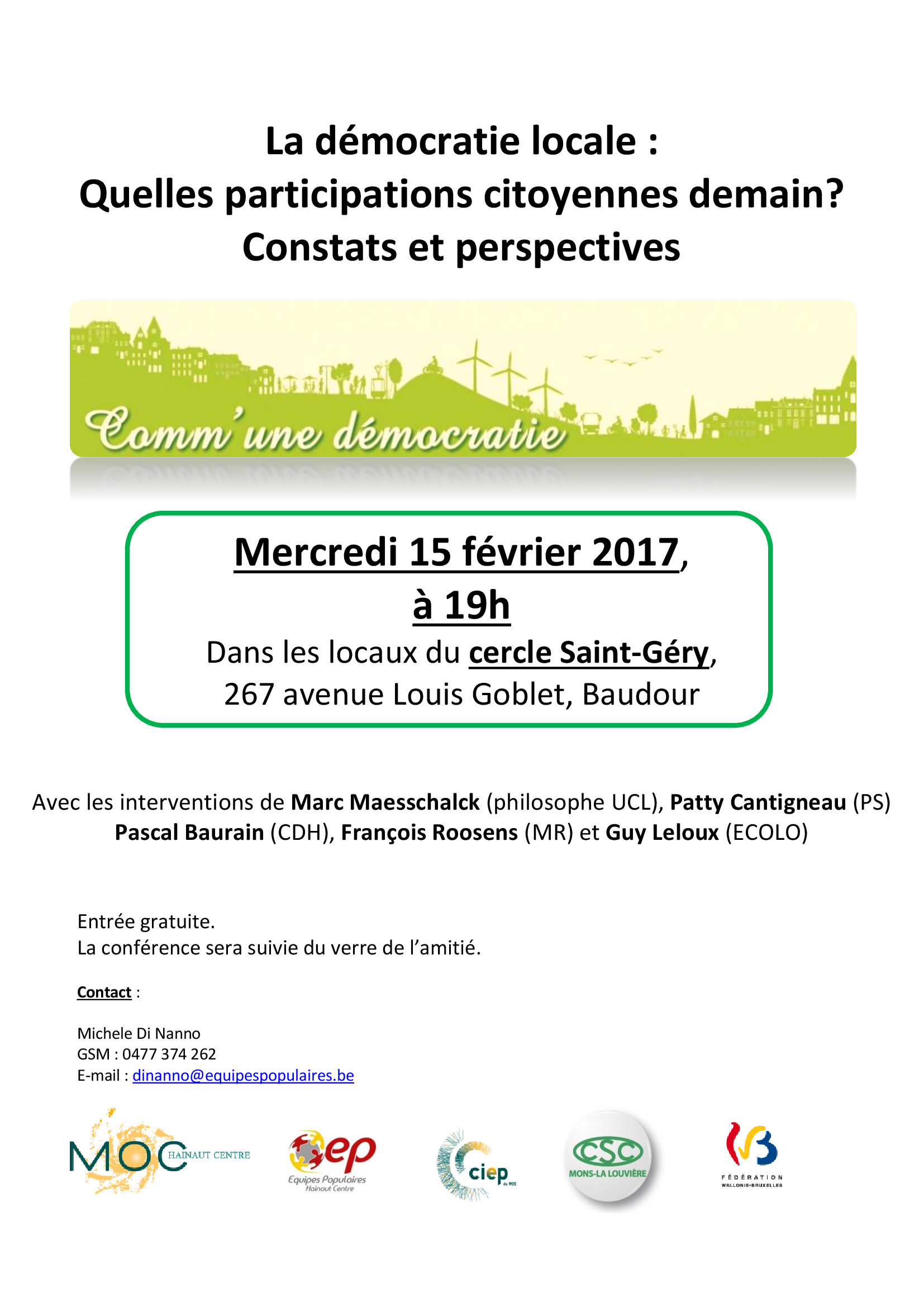 Invitation Saint Ghislain 15 02 2017 1